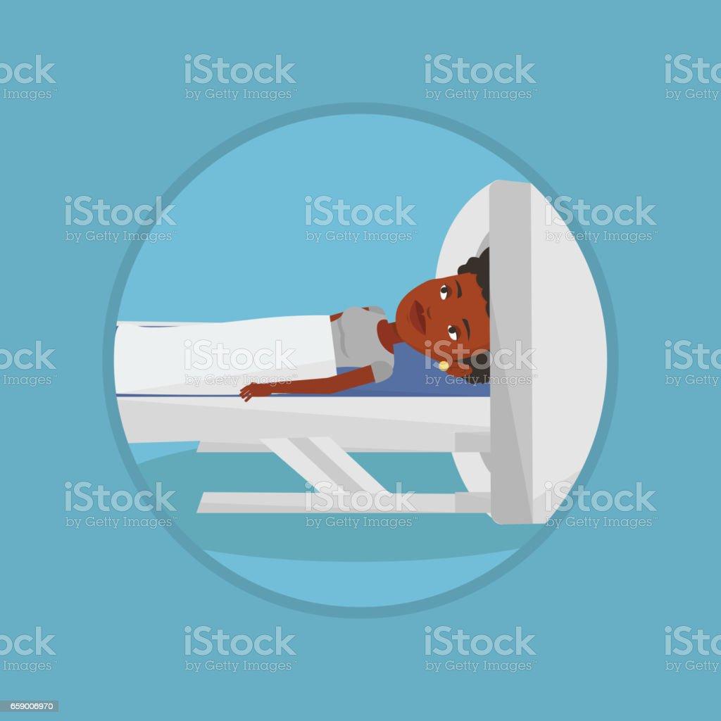 Magnetic resonance imaging vector illustration royalty-free magnetic resonance imaging vector illustration stock vector art & more images of biomedical illustration