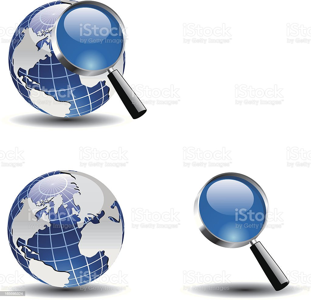 magnifier royalty-free magnifier stock vector art & more images of backgrounds