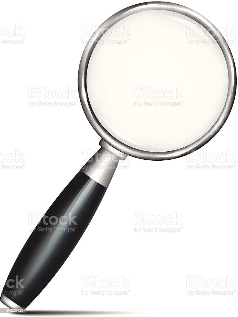 Magnifier royalty-free magnifier stock vector art & more images of business