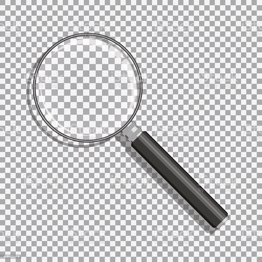 Magnifier vector illustration vector art illustration