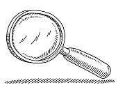 Magnifying Glass Drawing