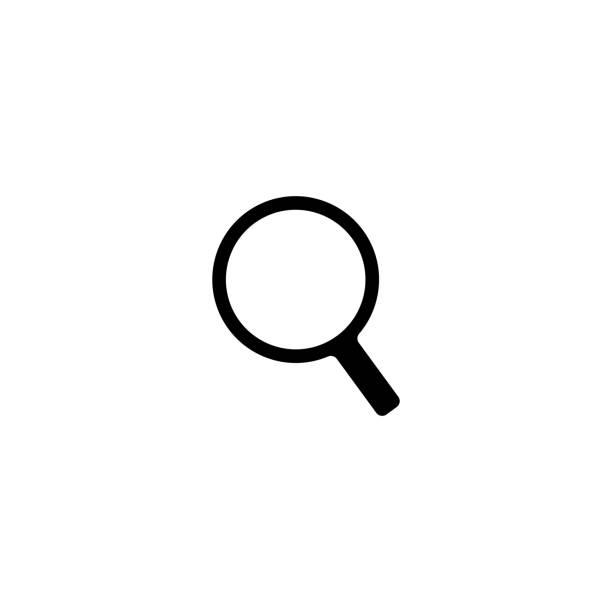 lupe-symbol - sucht stock-grafiken, -clipart, -cartoons und -symbole