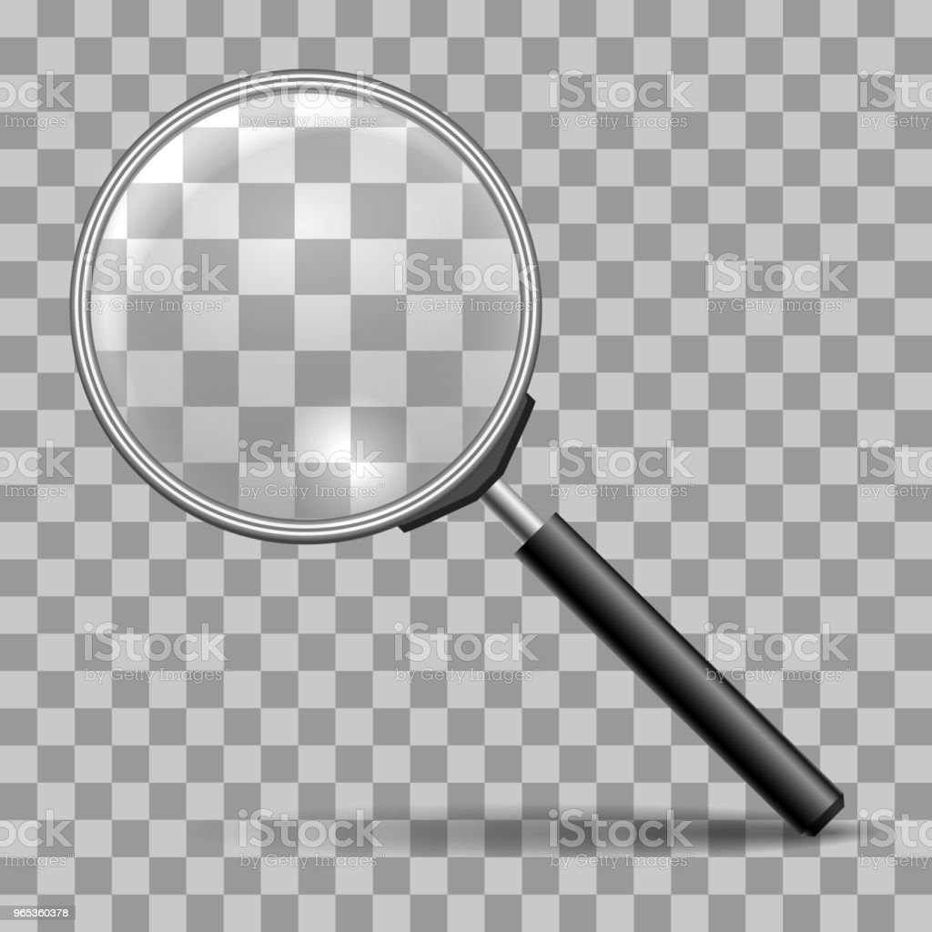 Magnifying glass icon royalty-free magnifying glass icon stock vector art & more images of backgrounds