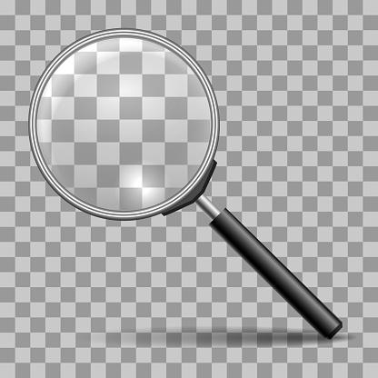 돋보기를 아이콘을 0명에 대한 스톡 벡터 아트 및 기타 이미지