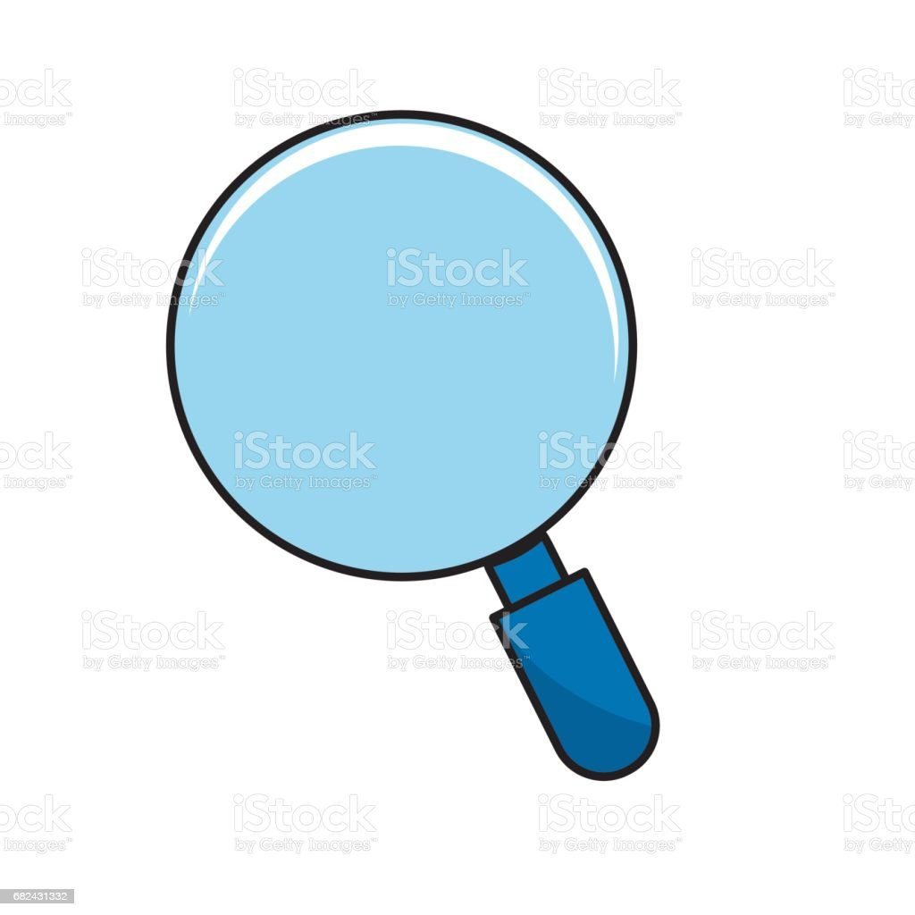 magnifying glass tool to search and read royalty-free magnifying glass tool to search and read stock vector art & more images of analyzing