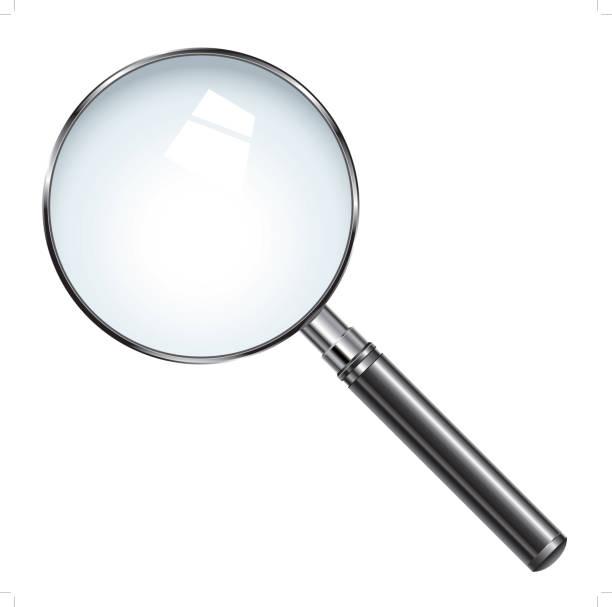 虫眼鏡 - 虫メガネ点のイラスト素材/クリップアート素材/マンガ素材/アイコン素材