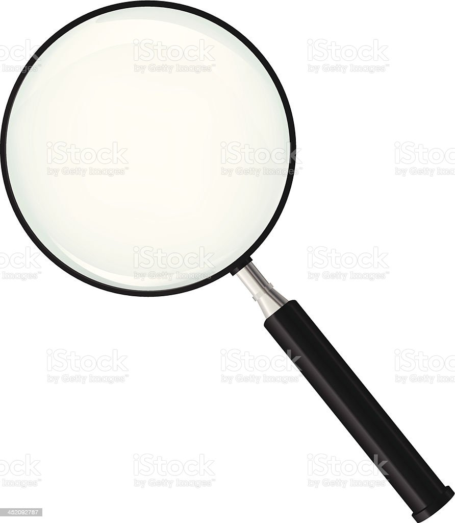 Magnifying glass royalty-free magnifying glass stock vector art & more images of analyzing