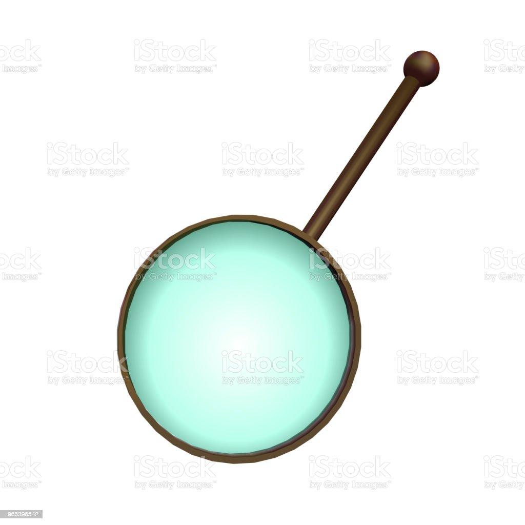 Magnifying glass. magnifying glass - stockowe grafiki wektorowe i więcej obrazów badania royalty-free