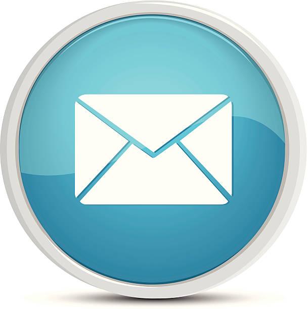 Bouton courrier - Illustration vectorielle