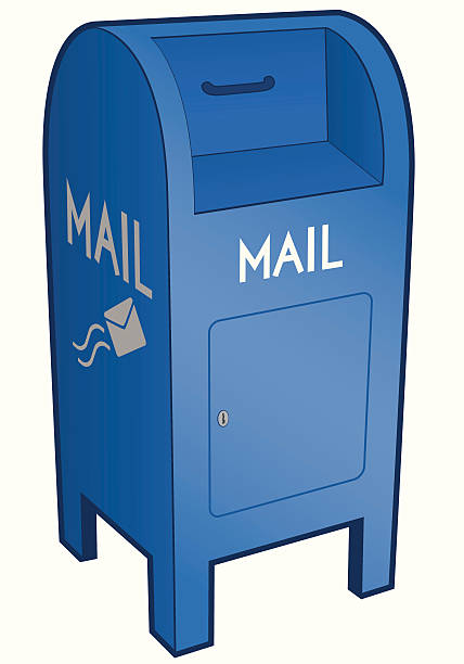 Mail-Briefkasten – Vektorgrafik
