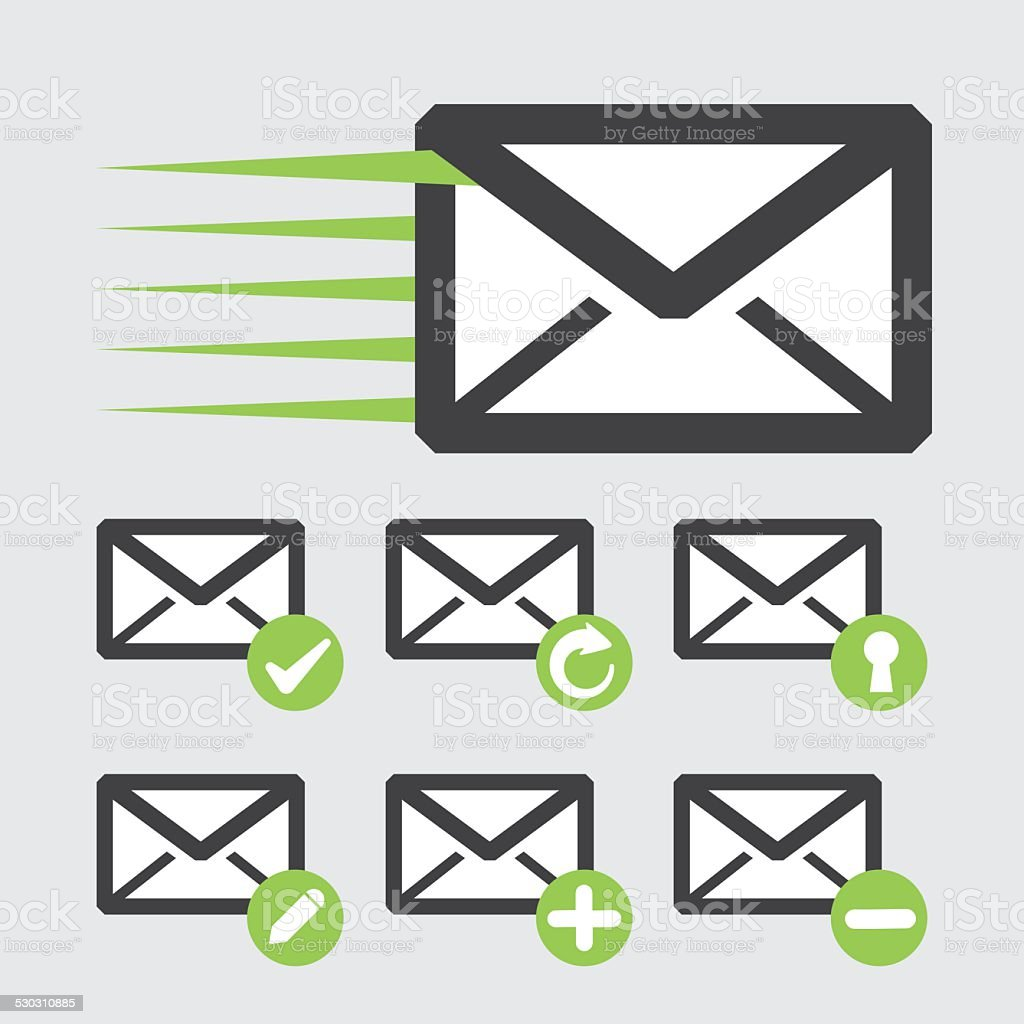 mail icon design vector illustration eps10 graphic vector art illustration