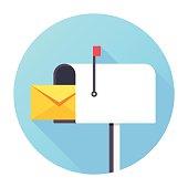 istock Mailbox Icon 537868525