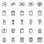 Mailbox icons