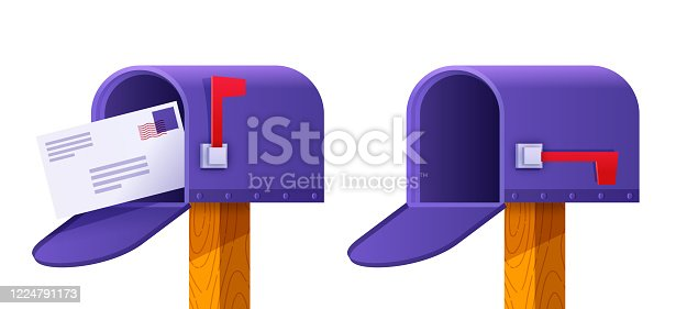 istock Mailbox Sending and Receiving Postal Mail 1224791173