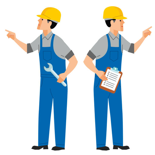 maintenance inspection - russelltatedotcom stock illustrations