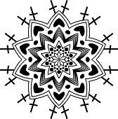 majestic geometric mandala