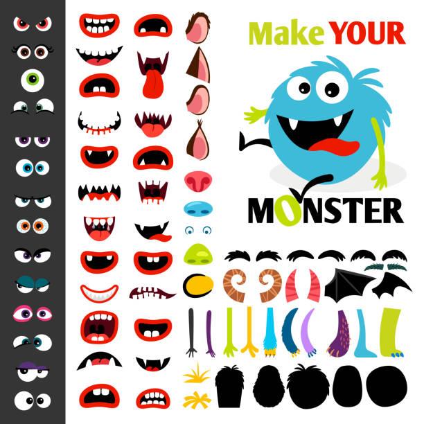 bildbanksillustrationer, clip art samt tecknat material och ikoner med gör en monster ikoner anger - hand tänder ett ljus