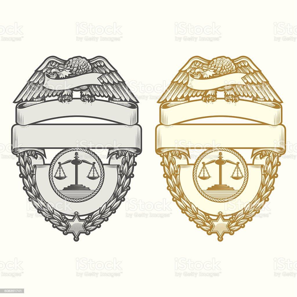 police badgebis stock vector art 508351741 istock