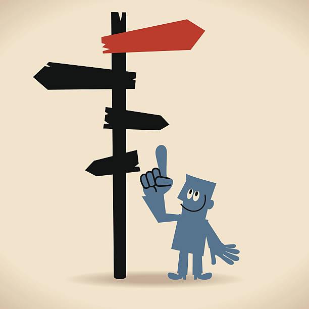 bildbanksillustrationer, clip art samt tecknat material och ikoner med make better decisions - stock arrow