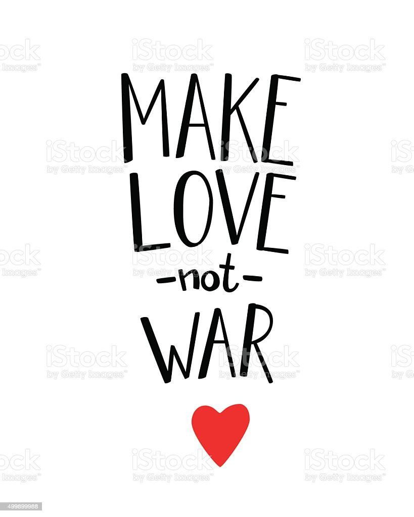 make love not war lettering stock vector art more images of 2015 rh istockphoto com Bank Clip Art Bank Clip Art