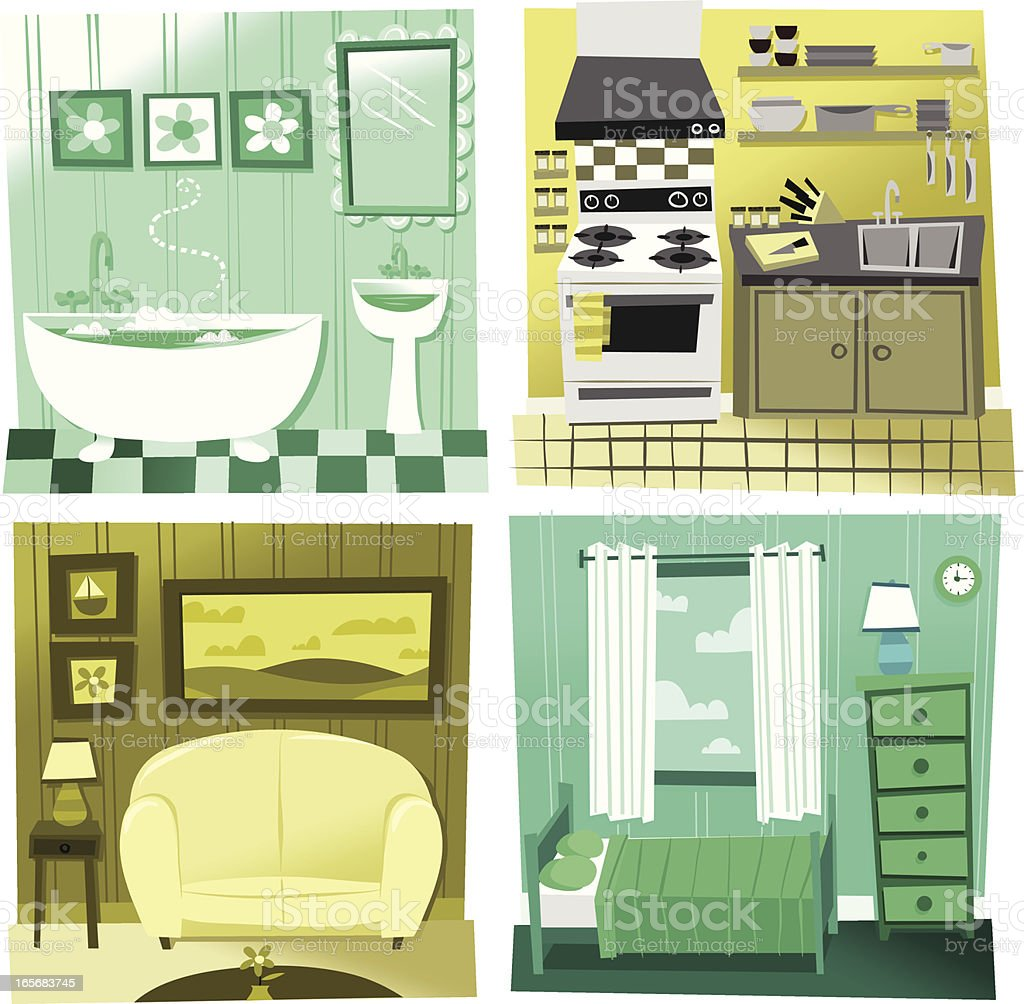 Make some room royalty-free stock vector art