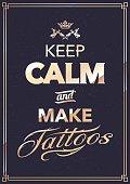 Make Tattoo Typography