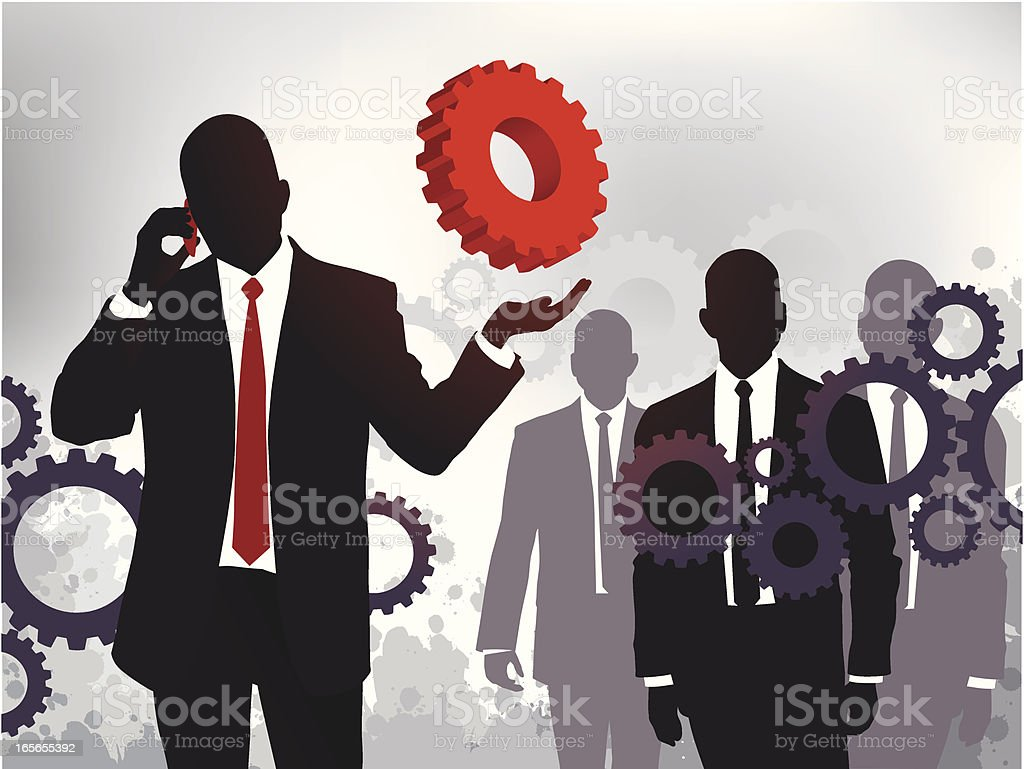 Make the Right Call royalty-free stock vector art