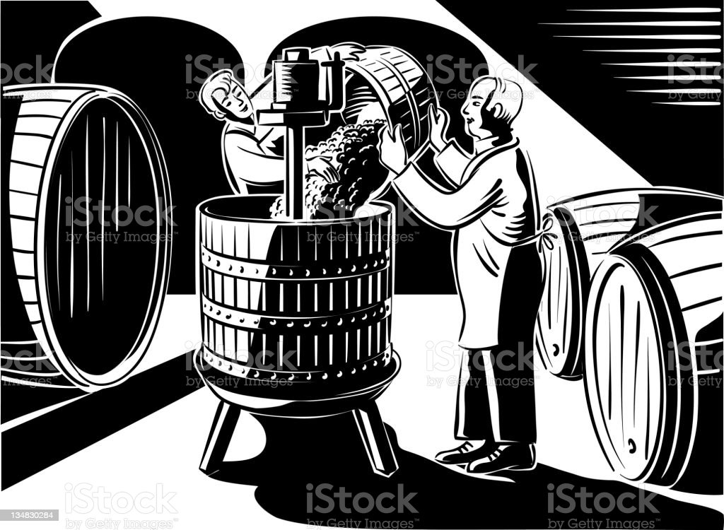 make the wine royalty-free make the wine stock vector art & more images of adult