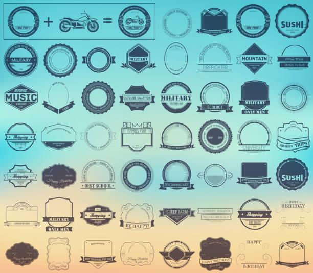 Ihre Marken oder Logos Konzept-set – Vektorgrafik
