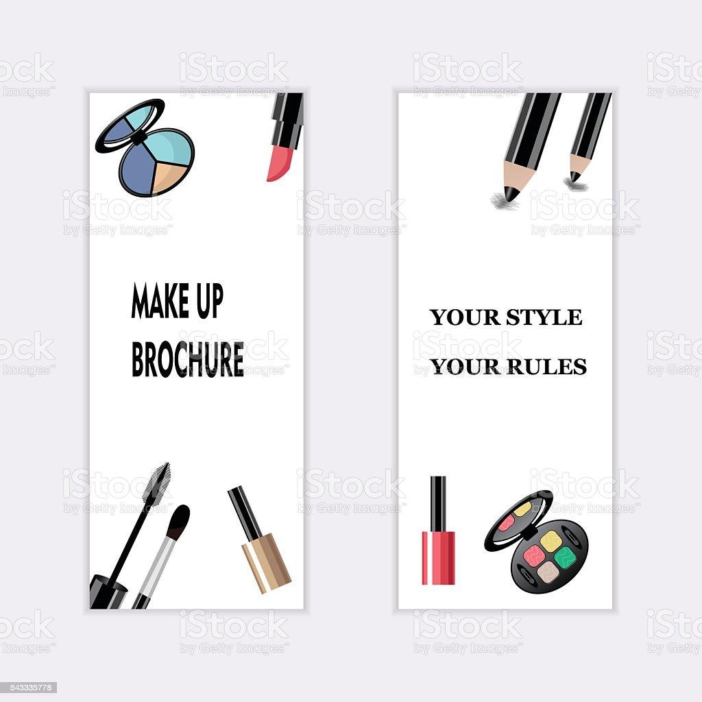 Makeup artist business card template items pattern stock vector makeup artist business card template items pattern royalty free stock vector art magicingreecefo Images
