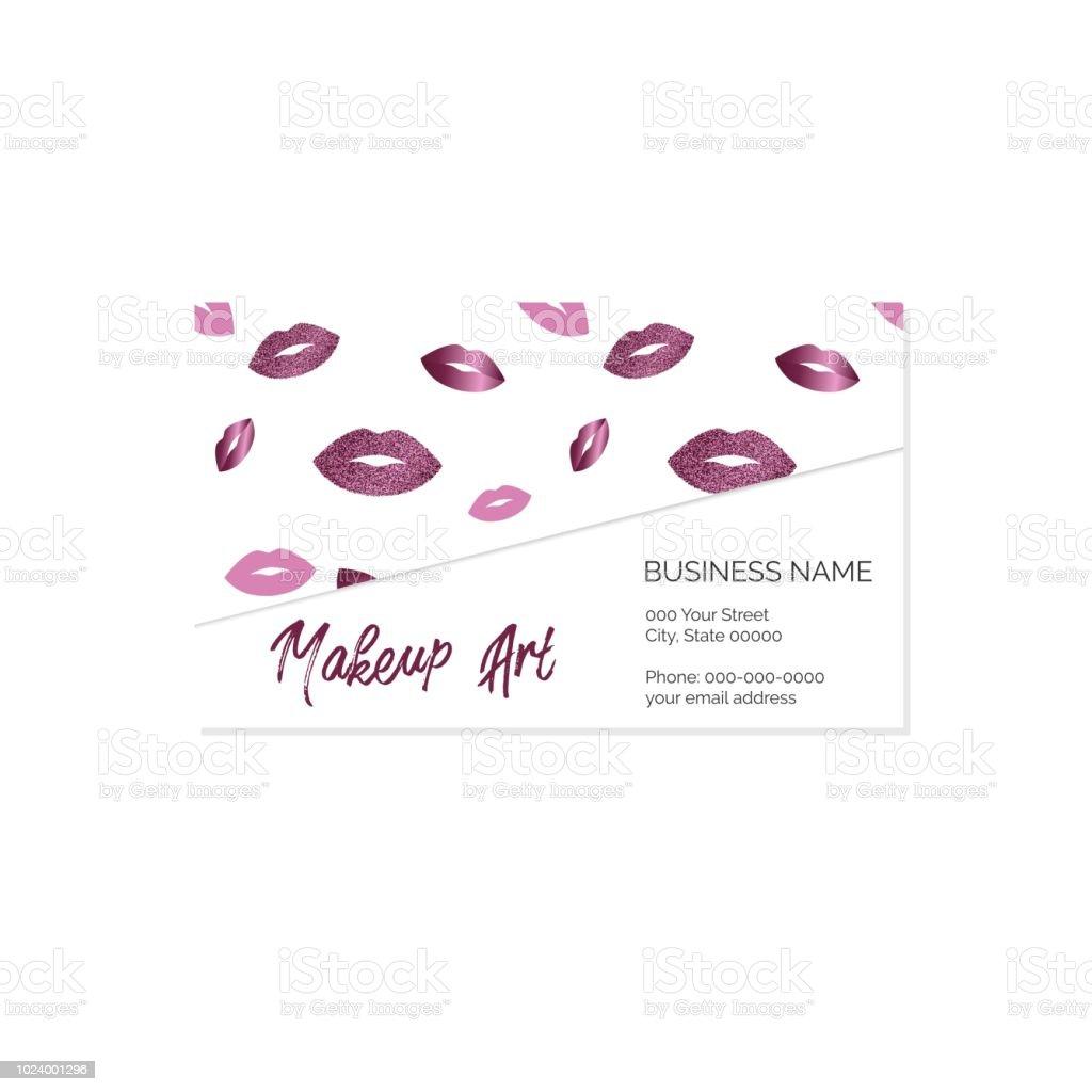 Makeup artist business card vector template stock vector art more makeup artist business card vector template royalty free makeup artist business card vector template stock fbccfo Choice Image