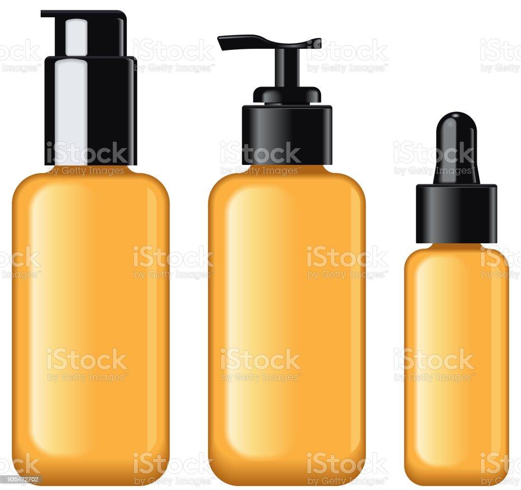 Verre Cosmétique Beauté Icône Pompe Maquillage Crème Bouteille lF1cKJ
