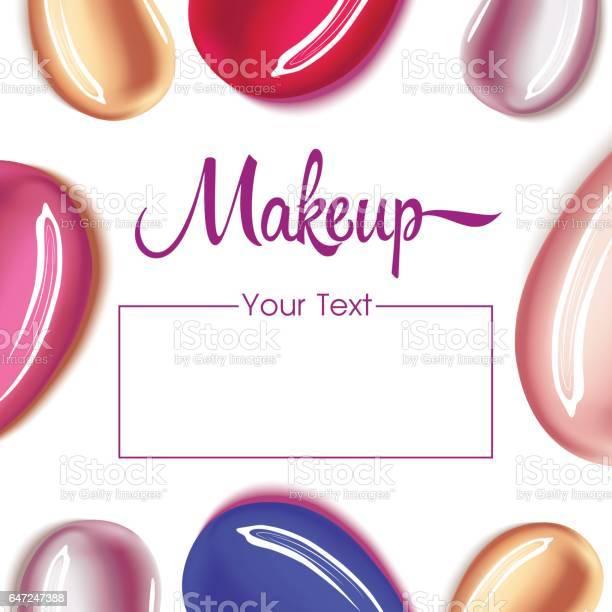 Makeup design template with place for text vector id647247388?b=1&k=6&m=647247388&s=612x612&h=j hkpihuliepuldnj0typp8xnilmrj8tk25vnbqsta8=