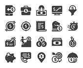istock Making Money - Icons 1159527974