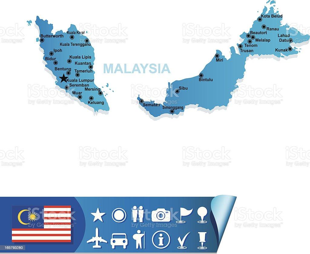 Malaysia Map Stock Illustration - Download Image Now - iStock on holland map, iran map, french polynesia map, ukraine map, kota kinabalu map, georgia map, armenia map, sarawak map, world map, singapore on map, selangor map, japan map, china map, yemen map, united kingdom map, pacific islands map, chile map, europe map, phillipines map,