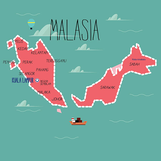 Best Malaysia Culture Illustrations, Royalty-Free Vector