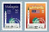 Vector Malaysia Postage