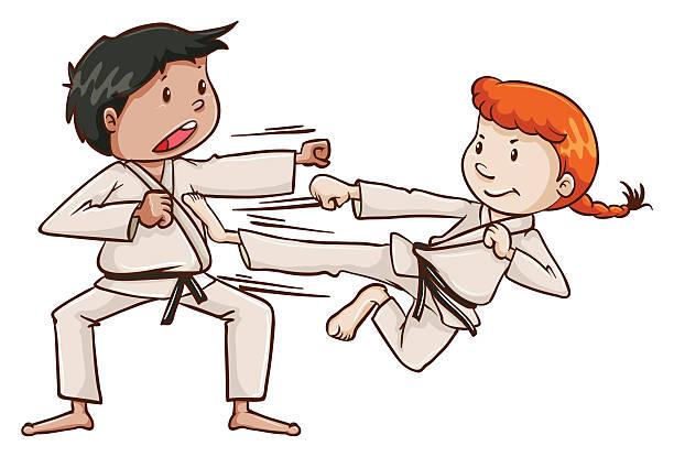 Best Self Defense Illustrations, Royalty-Free Vector ...