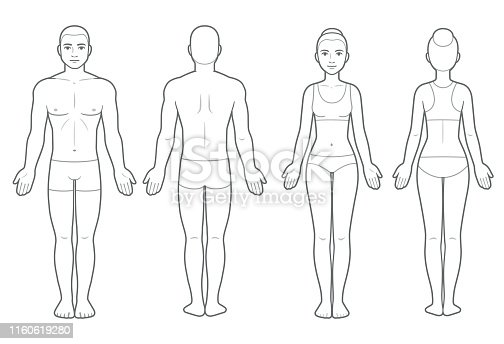 3 809 Human Body Outline Front And Back Drawing Illustrations Clip Art Istock Free body silhouette drawing download free clip art free. 3 809 human body outline front and back drawing illustrations clip art istock