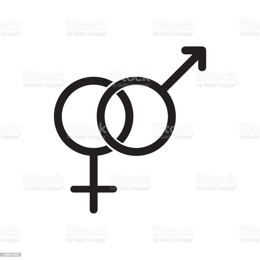 Male And Female Gender Symbols Icon Stock Vector Art More Images