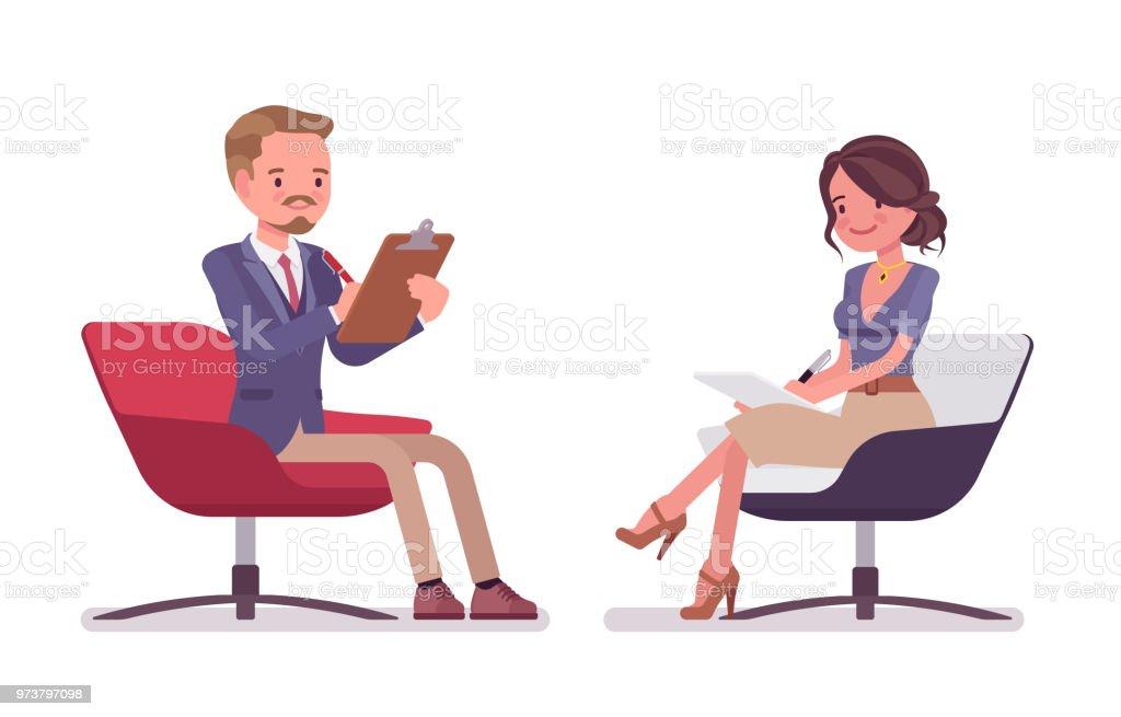 Office secretary thumbs