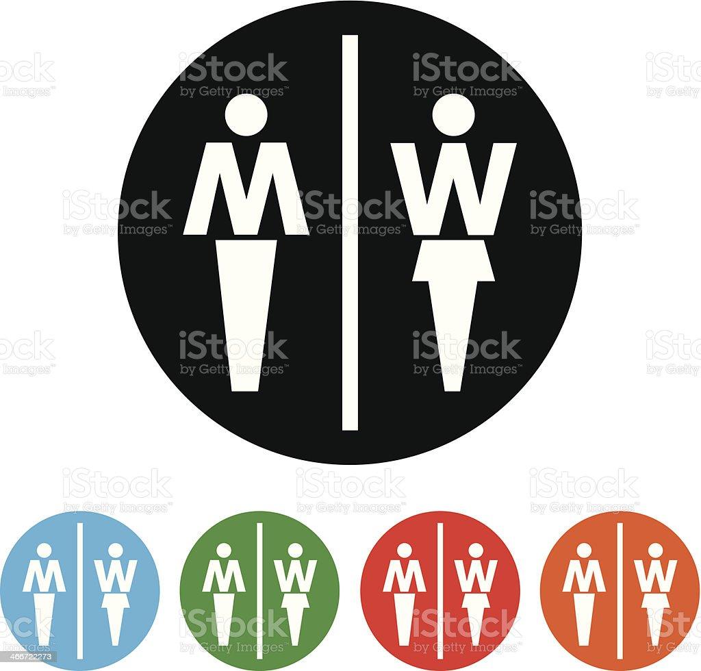f2c7209c0643f Homem e mulher símbolo ícone Casa-de-Banho homem e mulher símbolo ícone  casadebanho