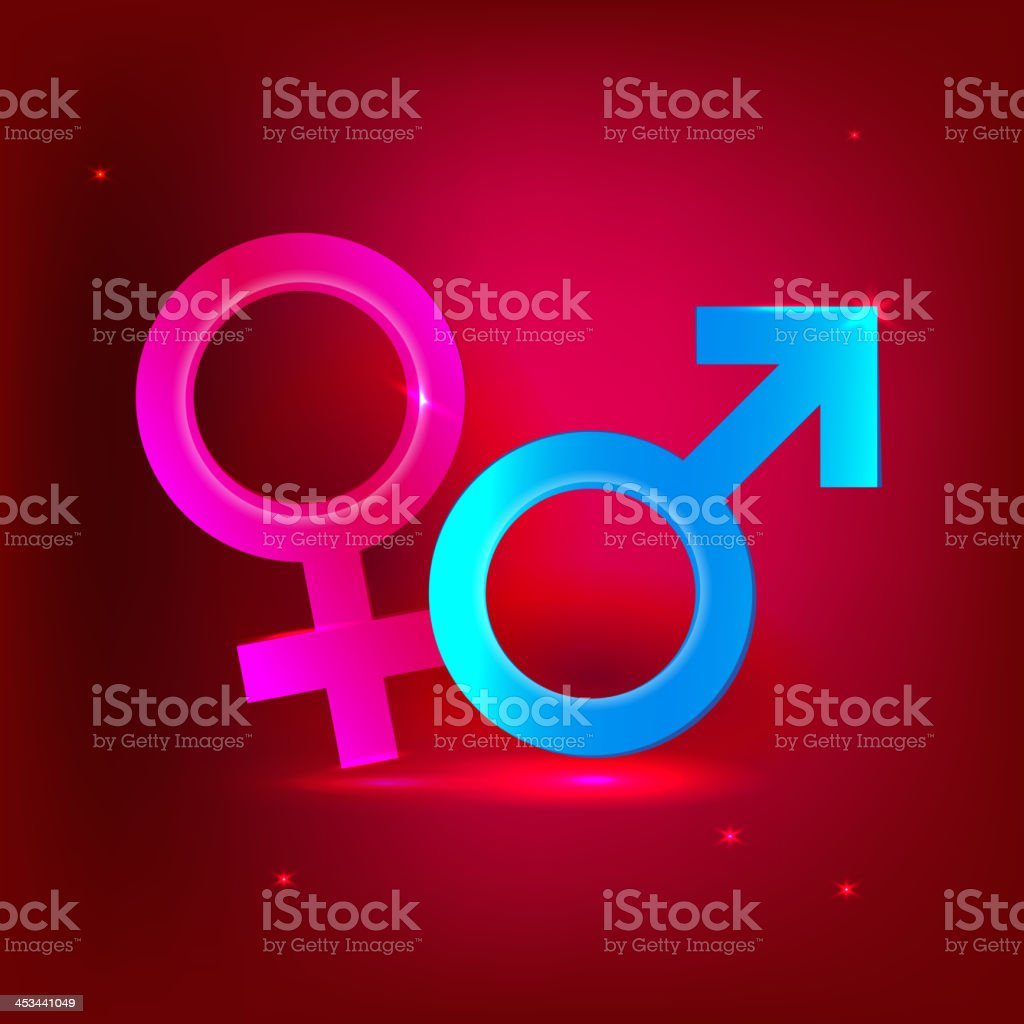 male and female symbols royalty-free male and female symbols stock vector art & more images of abstract