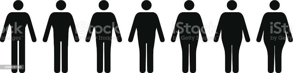 Male Body Shapes Stock Illustration - Download Image Now