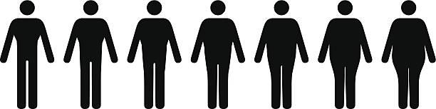 Männlichen Körper formen – Vektorgrafik