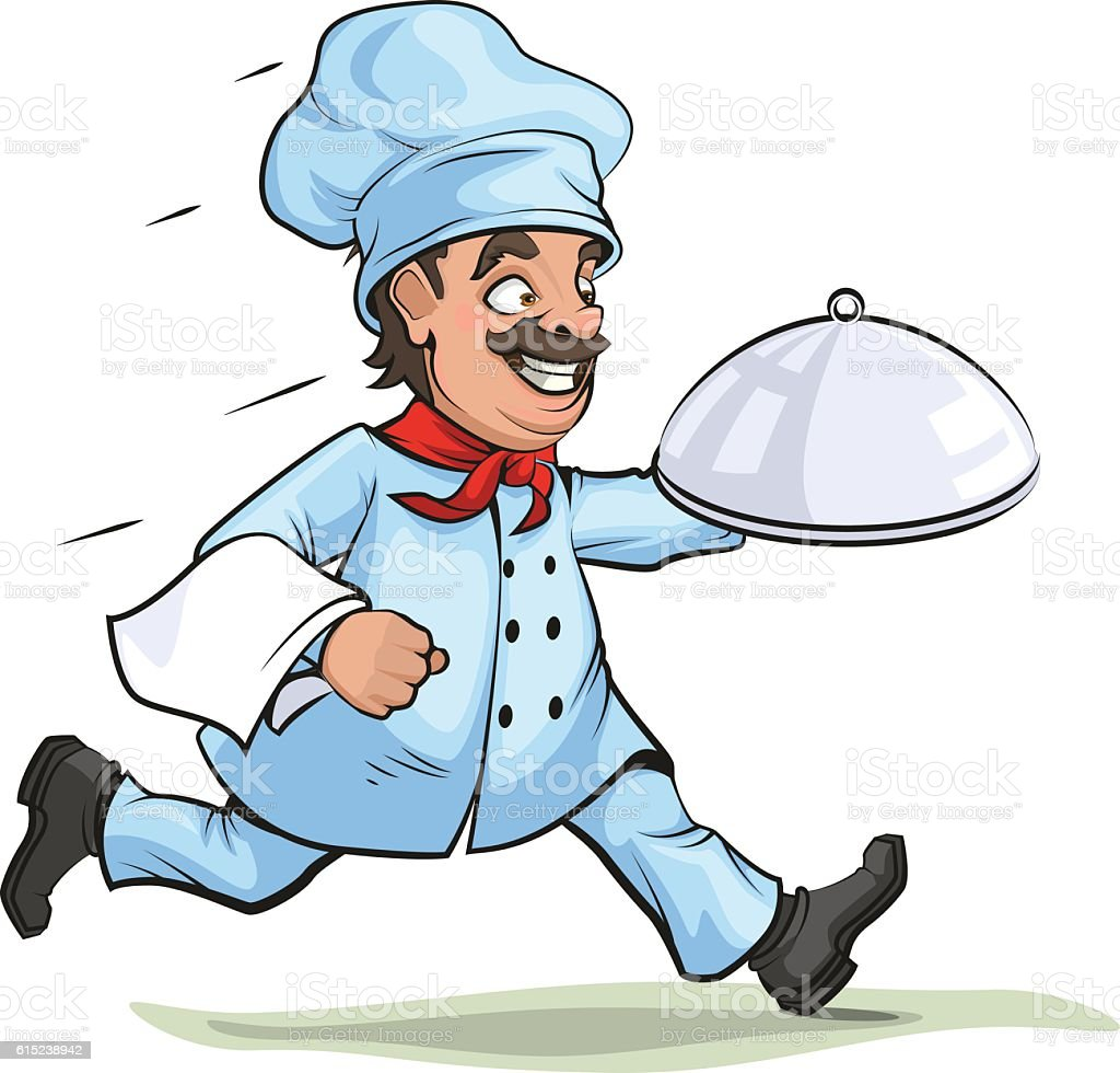 royalty free running waiter clip art vector images illustrations rh istockphoto com waiter clip art free water clip art pictures