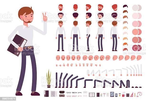 Male clerk character creation set vector id598254874?b=1&k=6&m=598254874&s=612x612&h=7hiqnv kfnlcglxl9ybduhqlpim8nsyifa0tex76soa=
