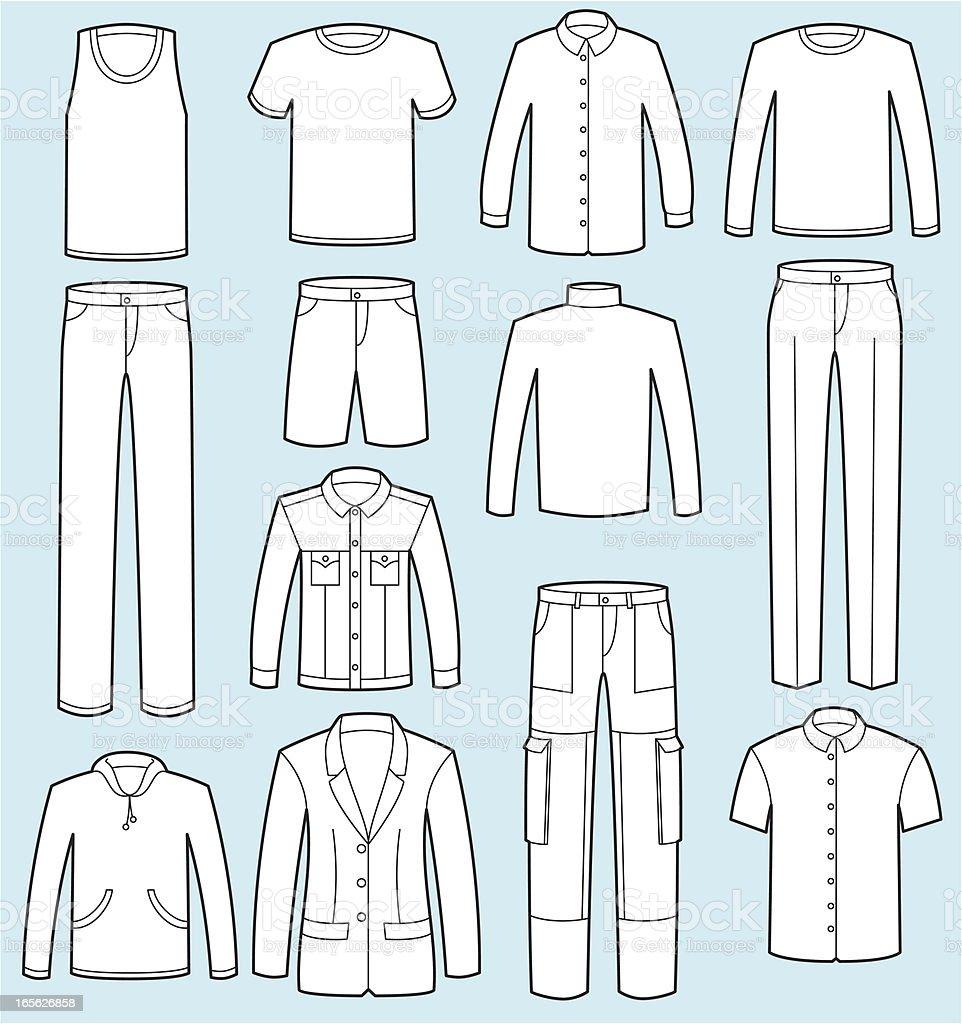Fato De Vestuário Masculino Casaco E Nas Calças Arte