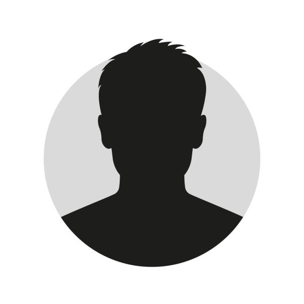 male face silhouette or icon. man avatar profile. unknown or anonymous person. vector illustration. - тайна stock illustrations