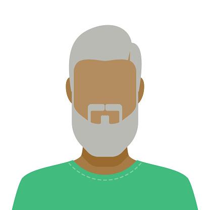 Male Facial Hair Avatar Icon